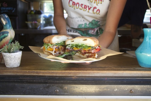 The Torta Special at Guero