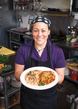 Cafe Hibiscus chef-owner Jennie Wyss
