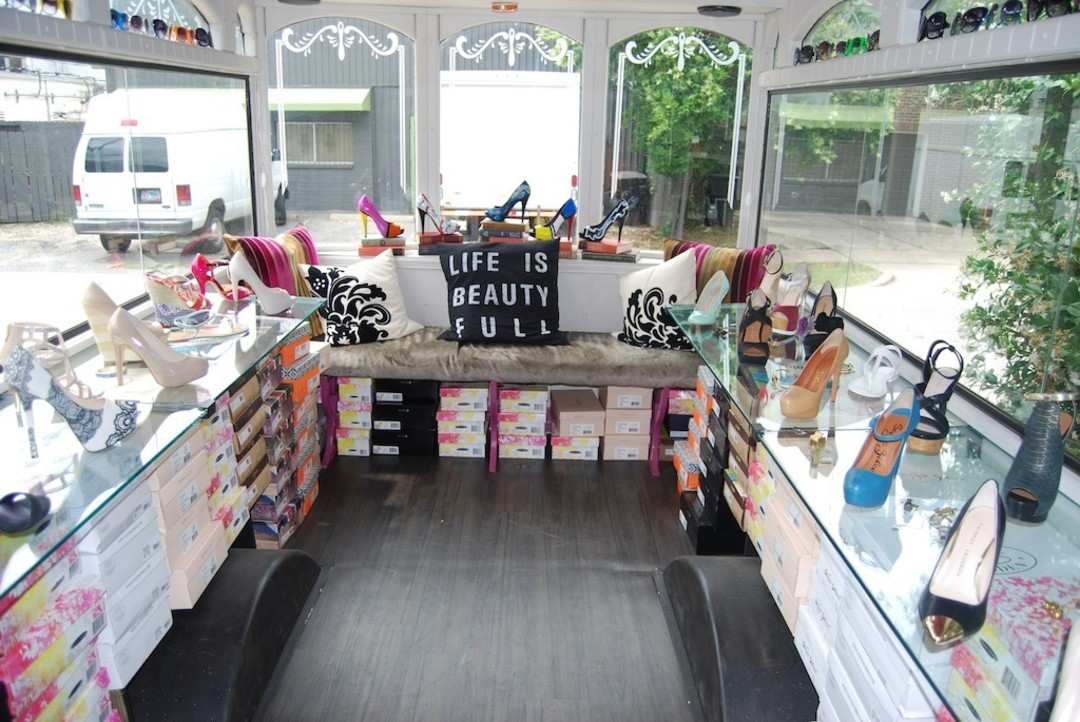 Shoe Store On Wheels