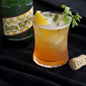 Beer and Loathing, a beer cocktail from the book.