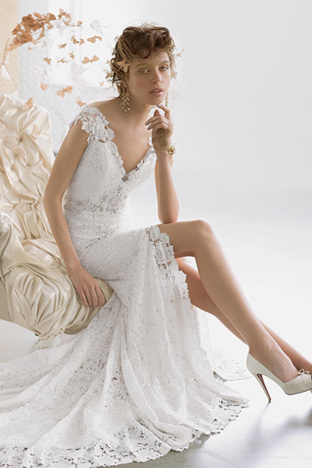 Stephen Yearick Wedding Gowns 65 Simple Image via Eve of