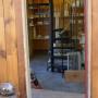 View Into Studio/Staircase