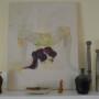 Art on Mantel