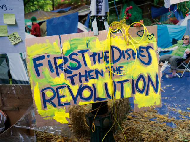 Occupy Portland Sign