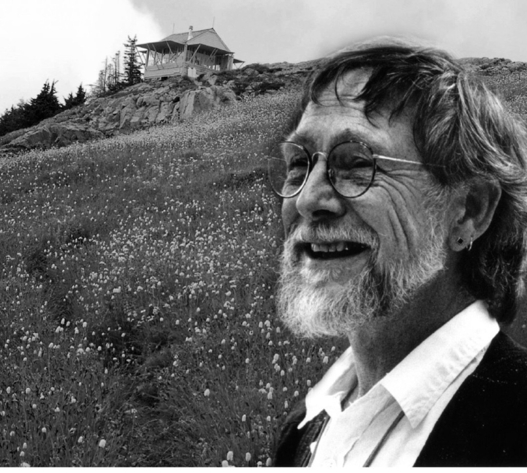 Gary Snyder on top