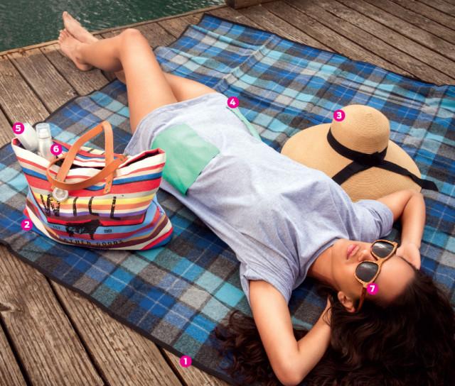 summer lounging