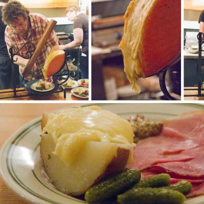 Raclette night sqneqq