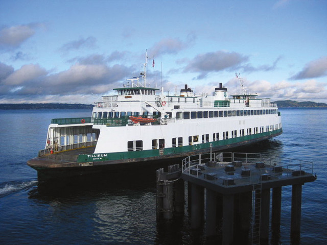 The ferry at Vashon