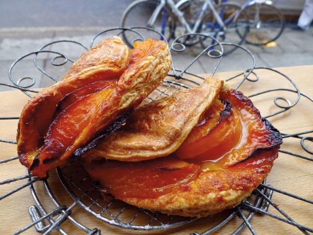 Bakeshop's peach handpie