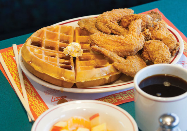 Chicken 'n' Waffles at The Original Timmy Chan