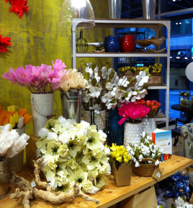West Elm Paper Flower Market