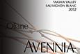 2012 avennia oliane sauvignon blanc label qyxi25