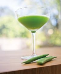 Yakuza's sweet pea cocktail