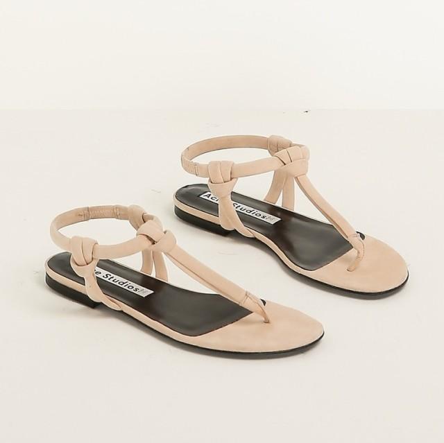 Totokaelo   acne studios dusty pink sandal edyfoh