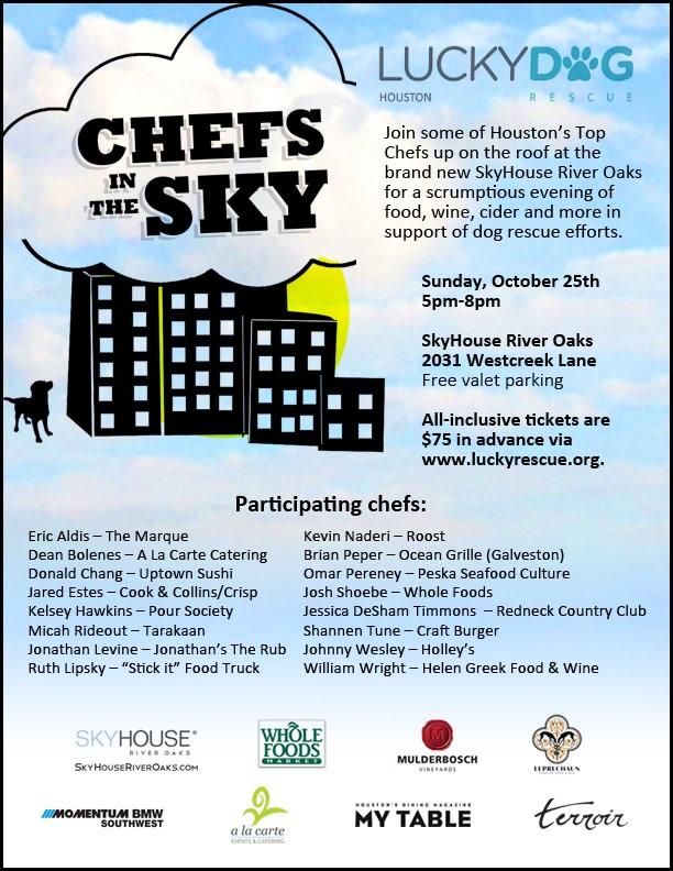 Chefs in the sky invite   october 25 arhzda