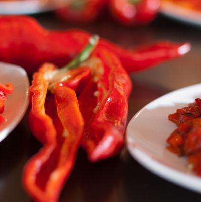 Pepper closeup aveado