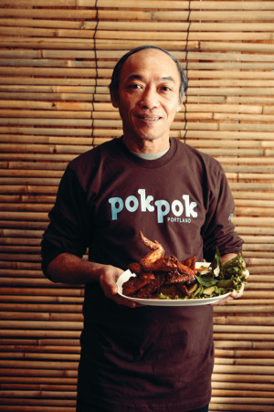 Pok Pok built a national empire on addictive Vietnamese chicken wings. Meet the man behind the recipe.