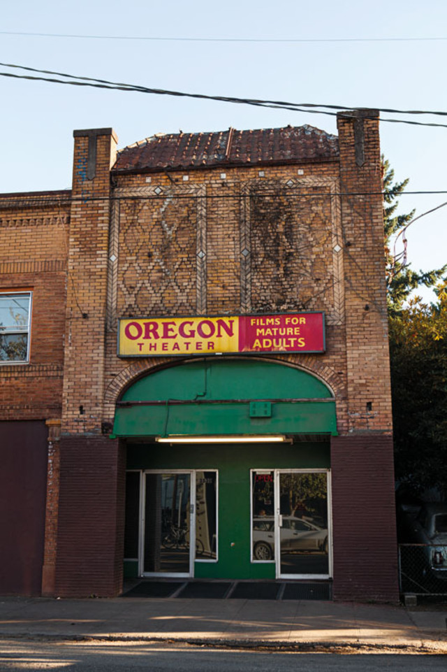 Amid Buzzy Restaurants And Rising Condos, The Oregon Theater Stands As A  Fading Reminder Of The Seamy U002770s.
