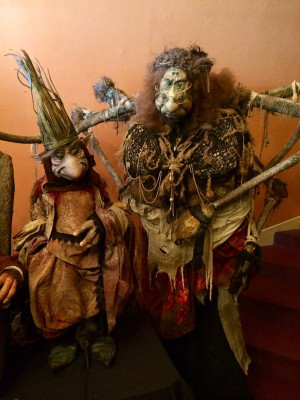 King Time and Granny Fate from Toby Froud's 'Lessons Learned'