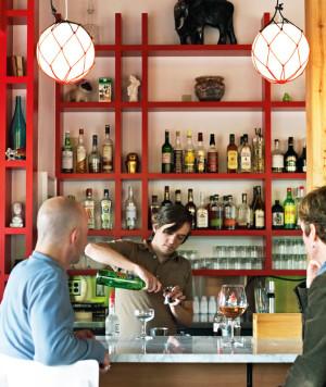 smallwares bar area