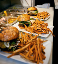 Burger and Fries-Nora's Table