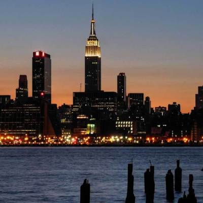 Empire state building from nj nghzzs