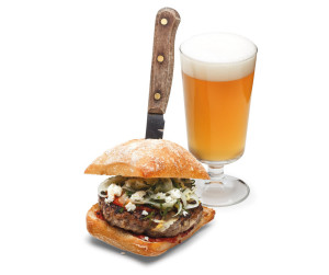 Beer/Food pairing from John Stewart of Meat Cheese Bread