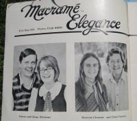 Macrame Elegance author photos