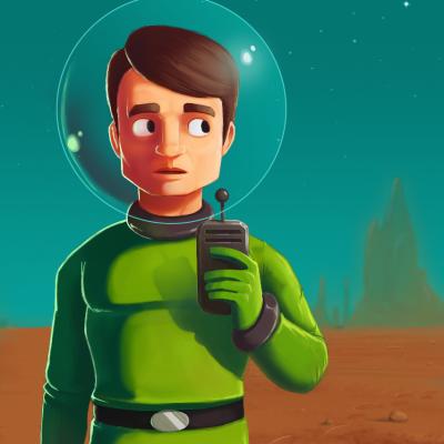 Space age app icon kphqlh
