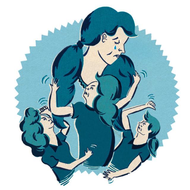 Bully girls illustration rhha7a