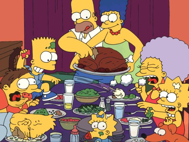 35098 the simpsons thanksgiving nvudsg