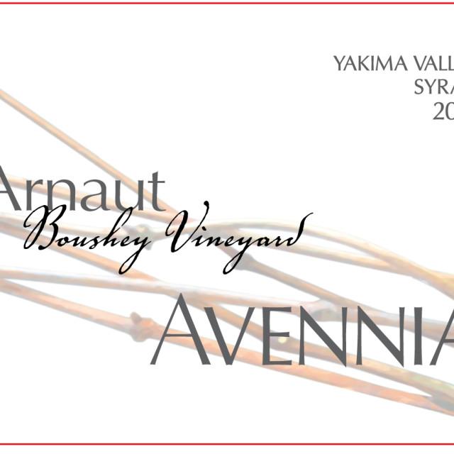 Avennia arnaut syrah 2012 objvgc