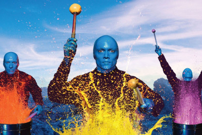 Blue man group image bald colors look 1440x2560 blkonj