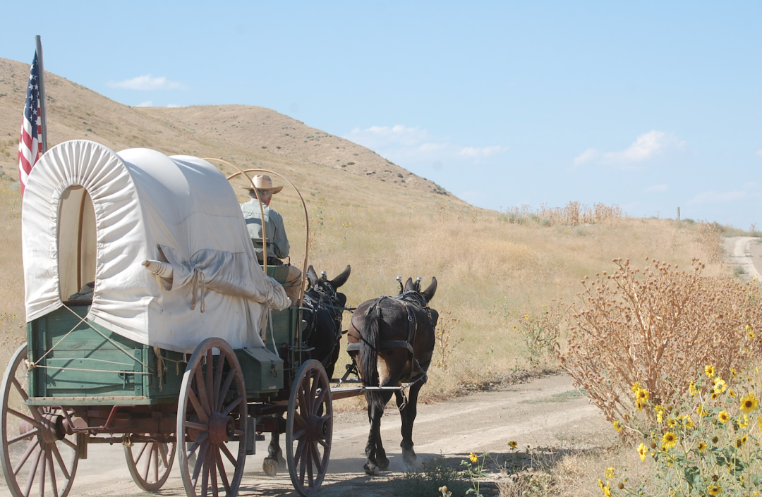 Whats It Like To Travel The Oregon Trail In A Covered Wagon In The
