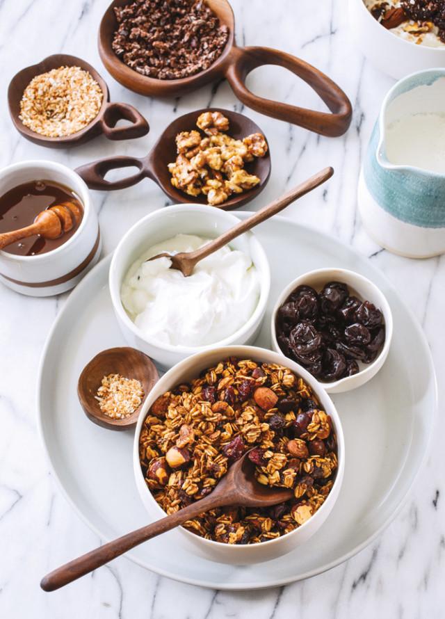 Host the best brunch around with a diy granola bar portland monthly cranberry vanilla granola serves 12 solutioingenieria Choice Image