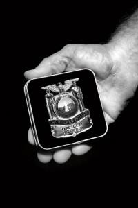 Henry Groepper Portland Police Badge