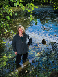 Wetlands Conservancy executive director Esther Lev