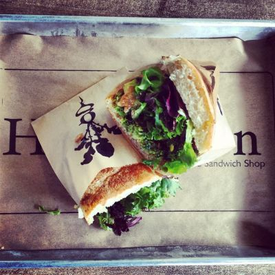 Homegrown sustainable sandwich shop yzustq