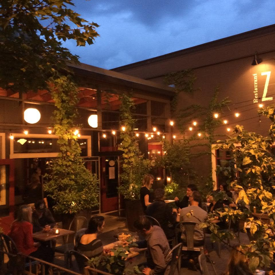 Unique Outdoor Cafe Lighting