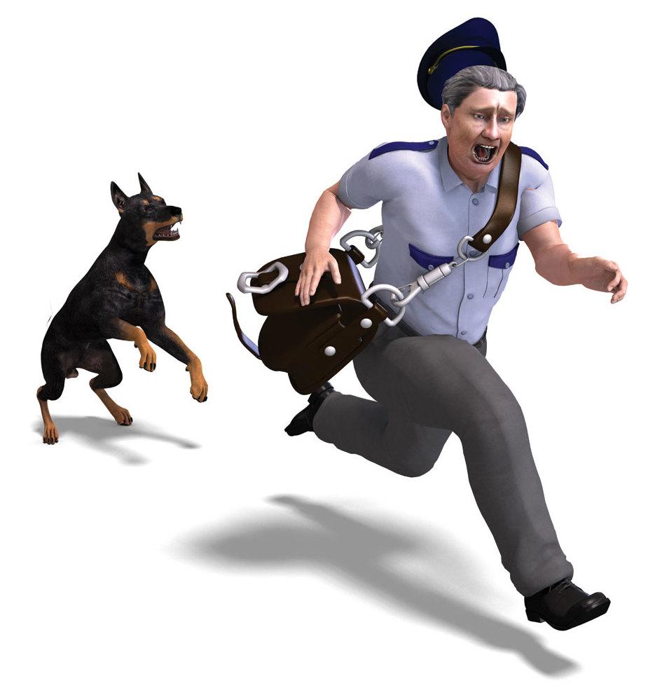 0715 ice house mailman dog kx6trr