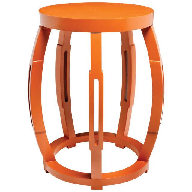 Seaside home taboret 1 orange gmrsc2