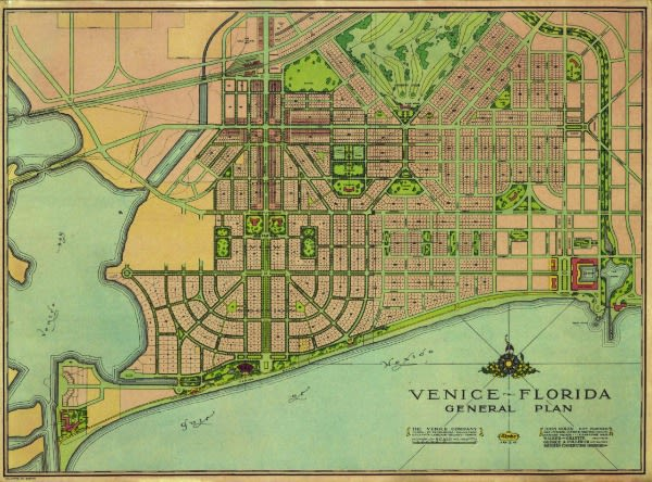 Venice city plan nvolfa