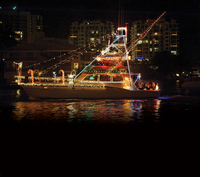 Christmas boat gawrep