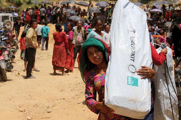 2015 shelterbox nepal shelterkit gttigo
