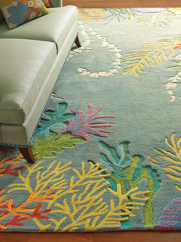 Beach Themed Rug Rugs Ideas