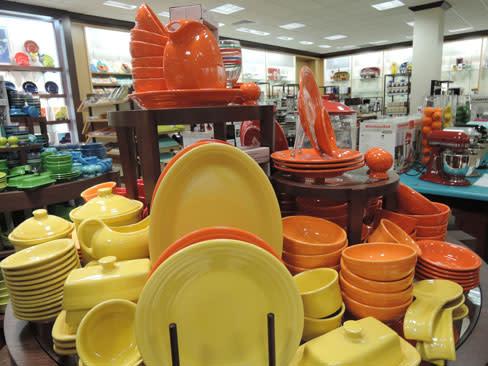 Fiesta ware in housewares department zcbm9g