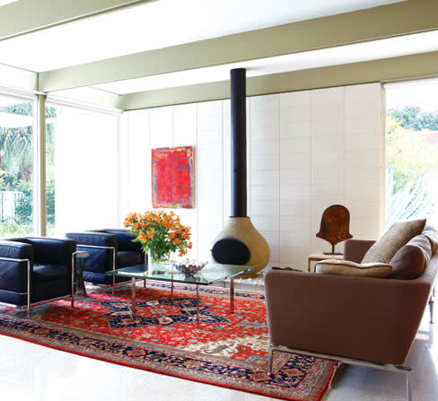 It Might Have Been Fate That Brought Sam And Pam Holladay To A Thoroughly Original Midcentury Modern Home On The Sara Bay Country Club Golf Course Designed
