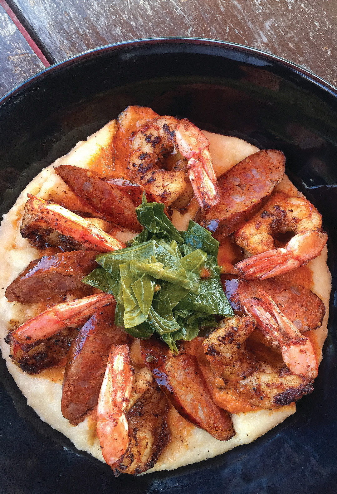 Shrimp grits for sarasota mag ykufj0