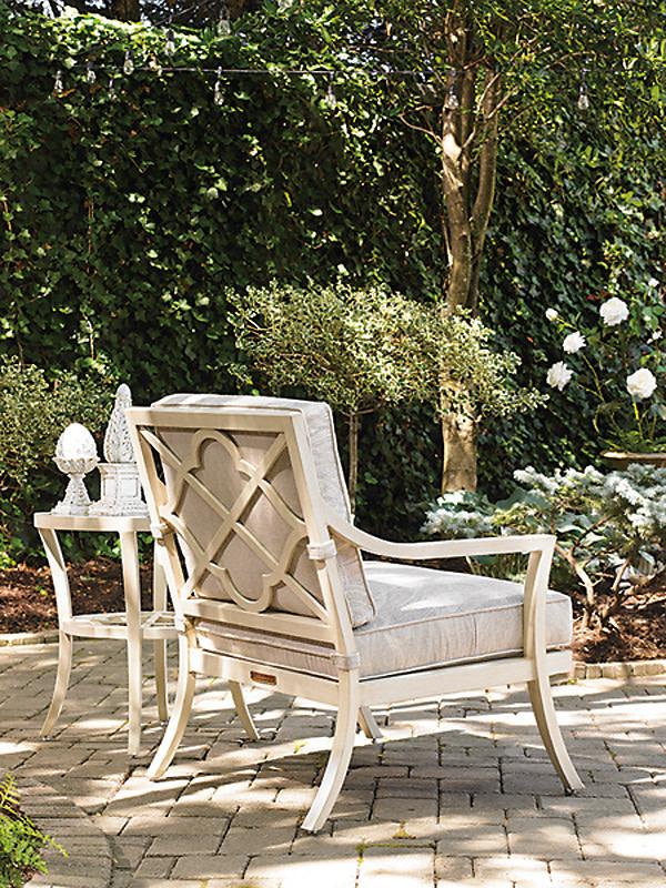 Tommy bahama misty garden lounge chair accent table ljtma0