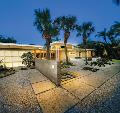 A Mid Century Modern Home On Lido Key Gets Thoughtful Remodel Sarasota Magazine